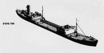 Diagram of 1TM class tanker