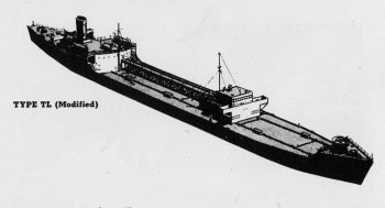 Diagram of 2TL class tanker