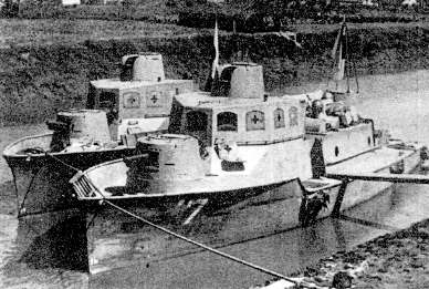 Photograph of AB-Tei armored boat