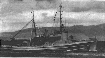 Photograph of Abnaki-class fleet tugboat
