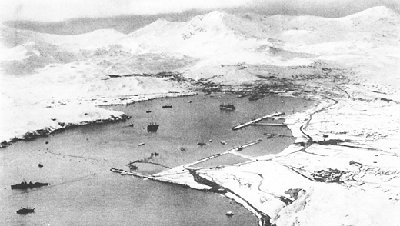 Photograph of Sweepers Cove, Adak Island