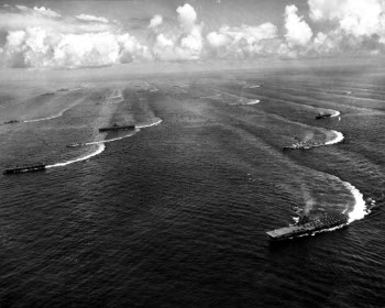 Photograph of carrier task force