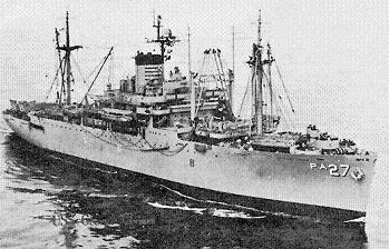 Photograph of Arthur Middleton-class transport