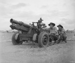 Photograph of Australian short 25-pounder