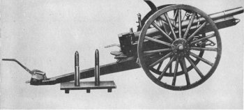 Photograph of Japanese Type 38 75mm howitzer