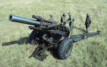 Photograph of U.S. 155mm howitzer