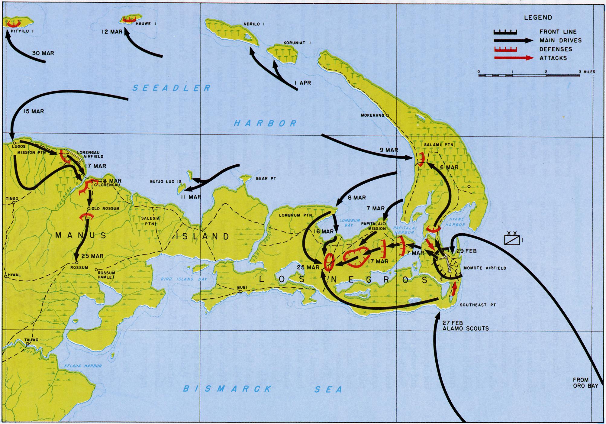 The Pacific War Online Encyclopedia Admiralty Islands