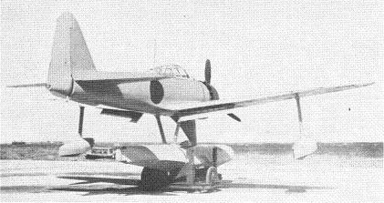 "Photograph of A6M2-N ""Rufe"" seaplane fighter"