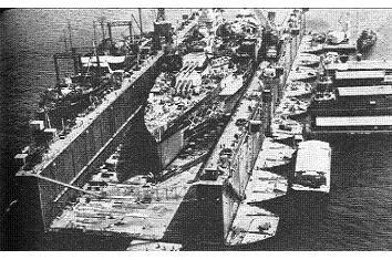 Photograph of ABSD floating dock