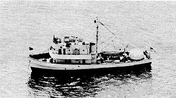 Photograph of Accentor-class coastal minesweeper