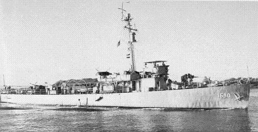 Photograph of Constant, an Adroit-class minesweeper