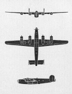 Schematic of B-24 Liberator