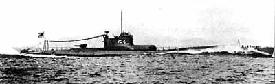 Photograph of B1-class submarine