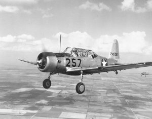 Photograph of BT-13 trainer