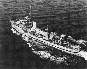 Photograph of Bagley-class destroyer