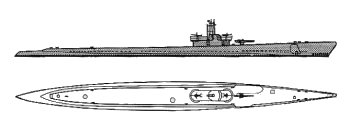 Schematic diagram of Balao class submarine