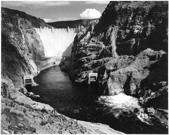 Photograph of Boulder Dam (Hoover Dam)