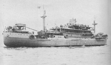 Photograph of USN Bowditch (hydrographic survey ship)