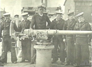 Photograph of 3-pdr gun