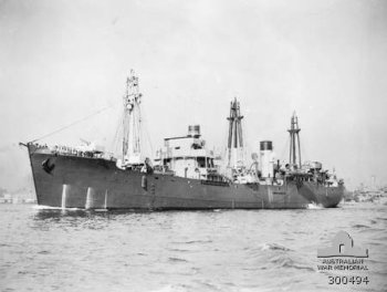 Photograph of HMAS Bungaree