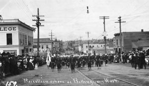 Photograph of Bellingham in 1908