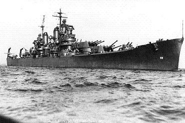 Photograph of Baltimore-class heavy cruiser