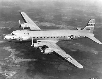 Photograph of C-54 Skymaster
