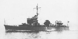 Photograph of submarine chaser Ch-3