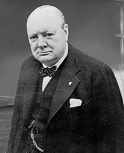 Photograph of Winston S. Churchill