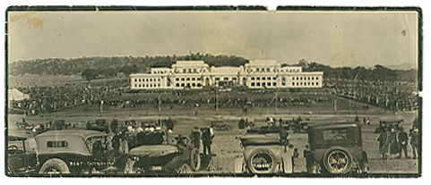 Photograph of Canberra Parliament House