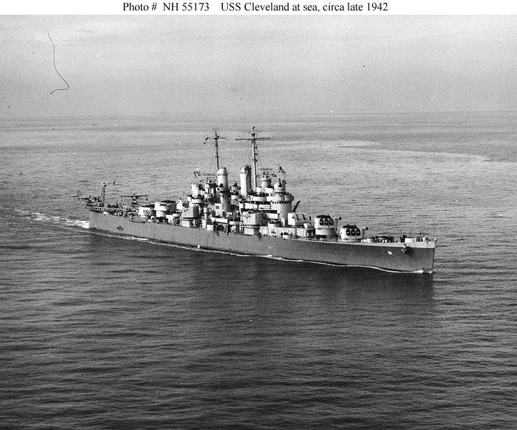 The Pacific War Online Encyclopedia Cleveland Class U S