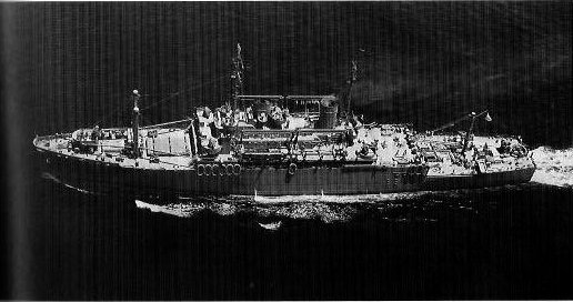 Photograph of USS Doyen