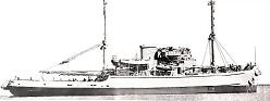 Photograph of Diver-class rescue and salvage ship