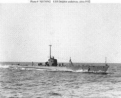 Photograph of Dolphin-class submarine
