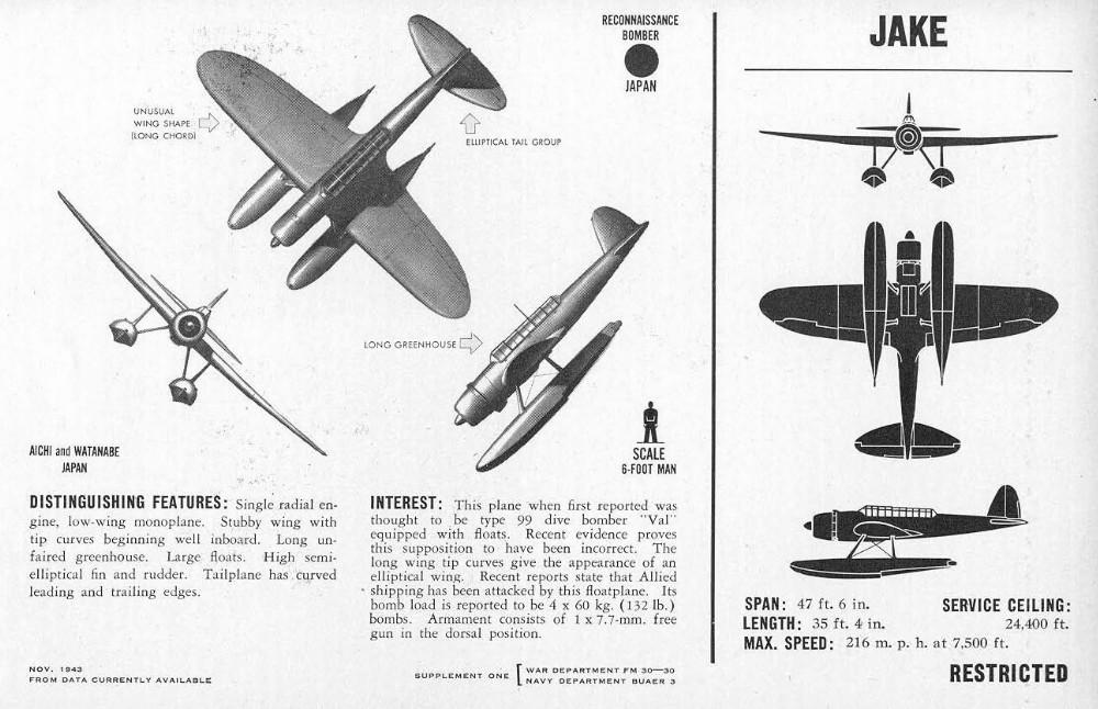 The Pacific War Online Encyclopedia: E13A