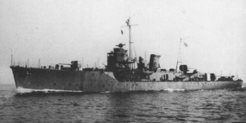 Photograph of patrol boat Etorofu