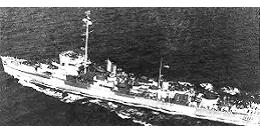 Photograph of Edsall-class destroyer escort