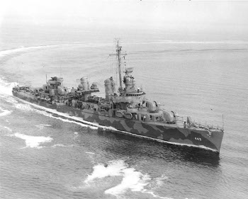 Photograph of Fletcher-class destroyer
