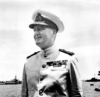 Photograph of Admiral Bruce Fraser