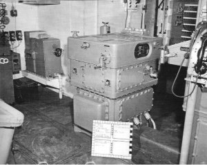 Photograph of Mark 32 vertical stable