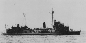 Photograph of gunboat Fushimi