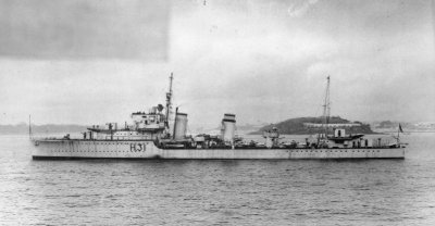 Photograph of HMS Griffin, a Gallant-class destroyer