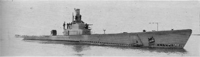 Photograph of Gato-class submarine