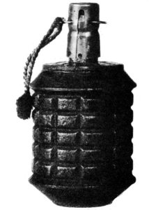 Photograph of Type 97 grenade