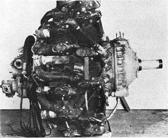 Photograph of Japanese Ha-26-II aircraft engine