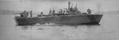 Photograph of Higgins class motor torpedo boat
