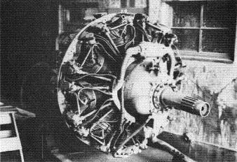 Photograph of Japanese Homare 22 aircraft engine