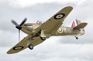 Photograph of Hawker Hurricane