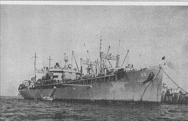 Photograph of USS Hamul