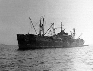 Photograph of Indus-class net cargo ship